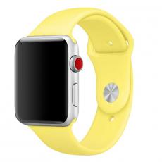 """Ремешок Apple Pollen спортивный для Apple Watch 42 мм, """"ярко-жёлтый неон"""", фото 1"""