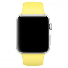 """Ремешок Apple Pollen спортивный для Apple Watch 42 мм, """"ярко-жёлтый неон"""", фото 3"""