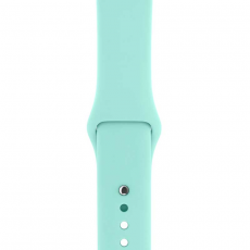 """Ремешок Apple Pollen спортивный для Apple Watch 42 мм, """"зелёная лагуна"""", фото 2"""