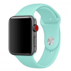 """Ремешок Apple Pollen спортивный для Apple Watch 42 мм, """"зелёная лагуна"""", фото 1"""