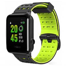 Умные-часы WeLoop Hey Waterproof Smart Sport Watch, черные/зеленые, фото 1