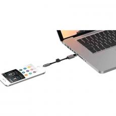 Флеш-накопитель PhotoFast MemoriesCable GEN3 64 Гб USB-C адаптер, черный, фото 3