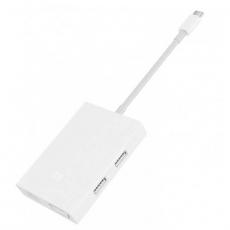 Хаб Mi USB-C to VGA and Gigabit Ethernet Multi-Adapter, белый, фото 1
