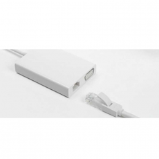 Хаб Mi USB-C to VGA and Gigabit Ethernet Multi-Adapter, белый, фото 2
