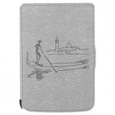 """Чехол-книжка DEXP PocketBook 6"""", серый, фото 1"""