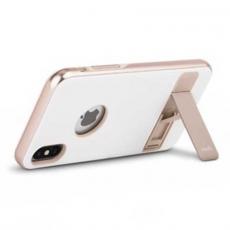 Чехол с подставкой Moshi Kameleon для iPhone X, белый, фото 3