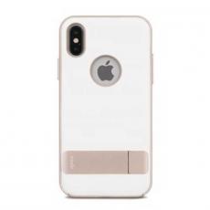 Чехол с подставкой Moshi Kameleon для iPhone X, белый, фото 1