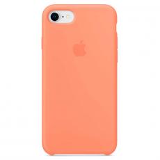 """Чехол Apple силиконовый для iPhone 7/8, """"сочный персик"""", фото 1"""