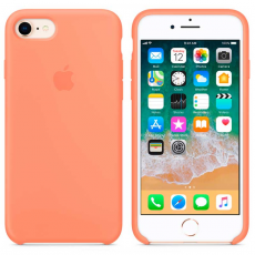 """Чехол-накладка Apple для iPhone 7/8, силикон, """"сочный персик"""", фото 3"""