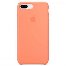 """Чехол Apple силиконовый для iPhone 7/8 Plus, """"сочный персик"""", фото 1"""