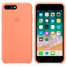 """Чехол Apple силиконовый для iPhone 7/8 Plus, """"сочный персик"""", фото 3"""