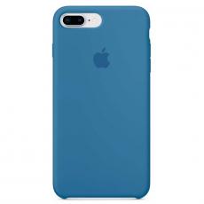 """Чехол Apple силиконовый для iPhone 7/8 Plus, """"синий деним"""", фото 1"""