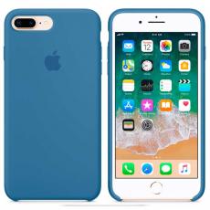 """Чехол Apple силиконовый для iPhone 7/8 Plus, """"синий деним"""", фото 3"""