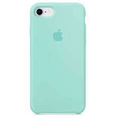 """Чехол силиконовый Apple для iPhone 7 и 8, """"зелёная лагуна"""", фото 1"""