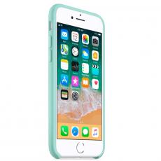 "Чехол-накладка Apple для iPhone 7/8, силикон, ""зелёная лагуна"", фото 3"