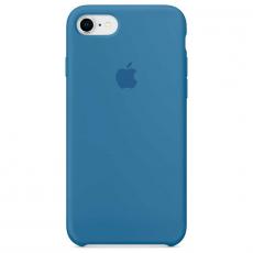 """Чехол Apple силиконовый для iPhone 7/8, """"синий деним"""", фото 1"""