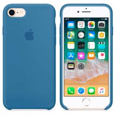 """Чехол Apple силиконовый для iPhone 7/8, """"синий деним"""", фото 3"""
