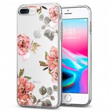 "Чехол SGP Liquid Crystal для iPhone 8/7 Plus, ""акварель роза"", фото 1"