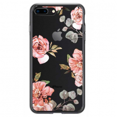 "Чехол SGP Liquid Crystal для iPhone 8/7 Plus, ""акварель роза"", фото 4"