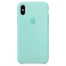 Силиконовый чехол для iPhone X, цвет «зелёная лагуна», фото 1