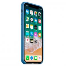 Силиконовый чехол для iPhone X, цвет «синий деним», фото 1