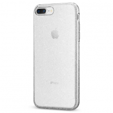 Чехол-накладка SGP Liquid Crystal Glitter для iPhone 7/8 Plus, полиуретан, прозрачный, фото 1