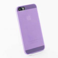 Чехол накладка Quadocta Tenuis Case для iPhone 5, 5s, SE, фиолетовый, фото 2