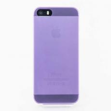 Чехол накладка Quadocta Tenuis Case для iPhone 5, 5s, SE, фиолетовый, фото 1