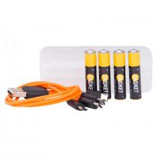 USB-батарейки ААА 4шт, фото 4