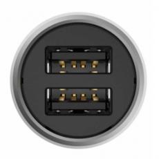 Автомобильное зарядное устройство Xiaomi Mi Car Quick Charger 3.0, 2 USB-A, USB-C, 3.6A, серебристый, фото 3