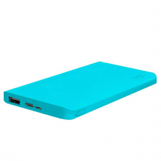 Внешний аккумулятор Xiaomi ZMI, USB-A, USB-C, Micro-USB, 10000 mAh, light blue, фото 3