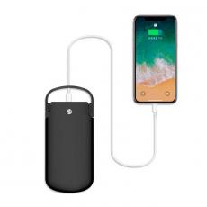 Внешний аккумулятор Zikko PowerBag Portable, USB-A, USB-C, 10000 мАч, чёрный, фото 4