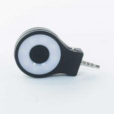 Вспышка LED с настройкой яркости в 3,5мм разьем RK07, черная, фото 1