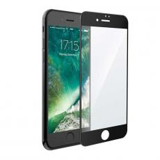 Защитное стекло 2,5D 9H Glass PRO для iPhone 7/8, черное, фото 1