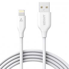 Кабель Anker Powerline, с USB-A на Lightning, 1.8 метра, белый, фото 1