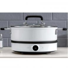 Комплект индукционная плита Mi Home Induction Cooker и рисоварка Xiaomi Mijia Custom Home Pan, фото 3