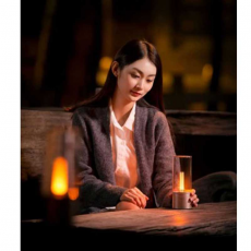 Лампа-ночник Yeelight Candela Smart Mood Candlelight, золотая, фото 3