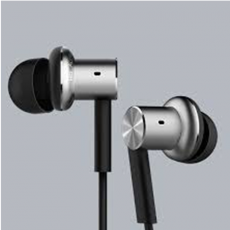 Наушники Xiaomi Mi In-Ear Headphone, серебристые, фото 2