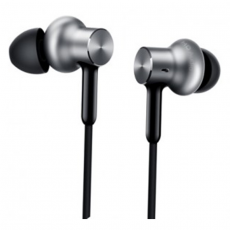 Наушники Xiaomi Mi In-Ear Headphone HD, серебристые, фото 1