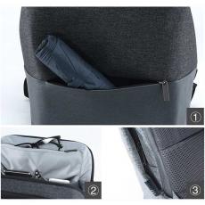 Рюкзак Xiaomi 90 Points Urban Simple Backpack, темно-серый, фото 3