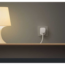 Умная Wi-Fi розетка Xiaomi Mi Smart Socket Power Plug (ZigBee), белая, фото 3