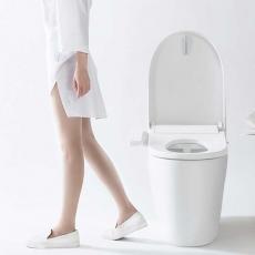 Умное сидение для унитаза Xiaomi Smartmi Toilet Cover, белое, фото 3