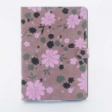 Чехол для iPad Air, цветочный принт, розовый/коричневый, фото 1