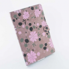 Чехол для iPad Air, цветочный принт, розовый/коричневый, фото 2