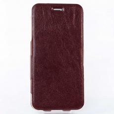 Чехол-книжка Slim Fit Horizontal для iPhone 6 Plus/6s Plus, кожаный, коричневый, фото 1
