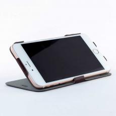 Чехол-книжка Slim Fit Horizontal для iPhone 6 Plus/6s Plus, кожаный, коричневый, фото 3