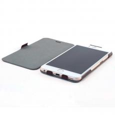 Чехол-книжка Slim Fit Horizontal для iPhone 6 Plus/6s Plus, кожаный, коричневый, фото 4