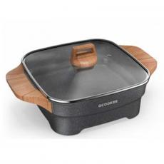 Электросковорода Xiaomi Cooker Кitchen Hot Pot Multifunctional, черная, фото 1