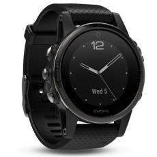 Умные часы Garmin Fenix 5S Sapphire с GPS, черные, фото 1