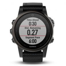 Умные часы Garmin Fenix 5S Sapphire с GPS, черные, фото 4